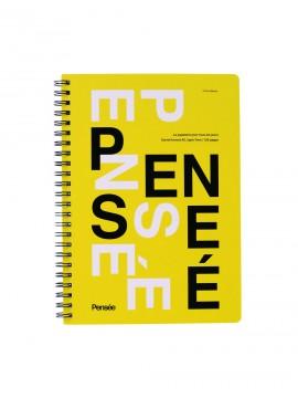 A5 Notebook, PENSE // Yellow