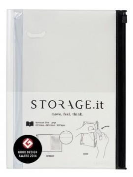 Notebook M, STORAGE.IT // White