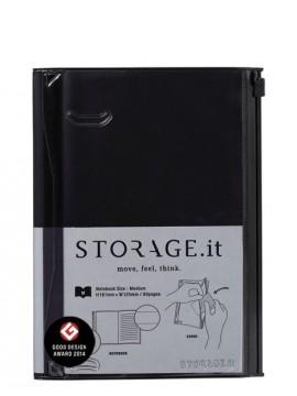 Notebook M, STORAGE.IT // Black