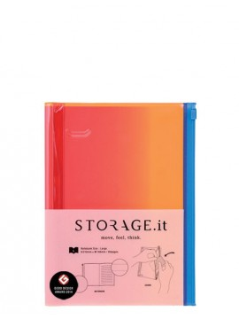 Carnet Cockatoo Dégradé Rose S - STORAGE.it