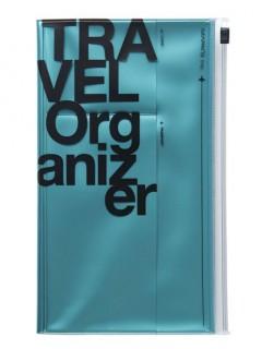 Travel organizer, TRAVEL KIT // Metallic blue
