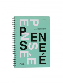 A5 Notebook, PENSE // Mint