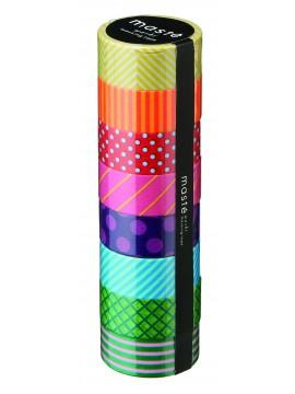 Pattern mix 1 // Colorful Basic, MASTE 8P - 7m