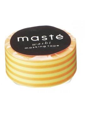 Neon orange - Stripes // Neon Basic, MASTE 1P - 7m