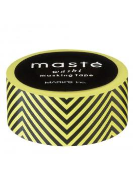 Yellow Chevrons - masté® Basic