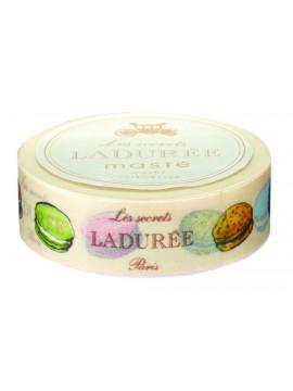 Masking Tape 15mm, LADUREE // Macarons