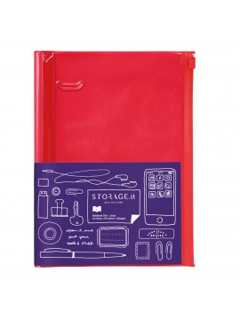 Carnet Solid Red L - STORAGE.it