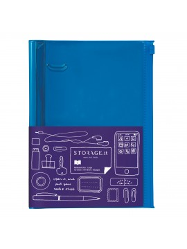 Carnet Solid Blue L - STORAGE.it