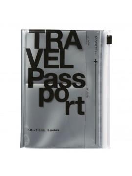 Protège Passeport Argent - Travel kit