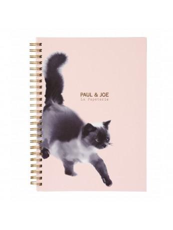 Carnet de notes à Spirale A5 Suiboku Cat PAUL & JOE