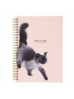 A5 Notebook, PAUL & JOE  // Suiboku Cat