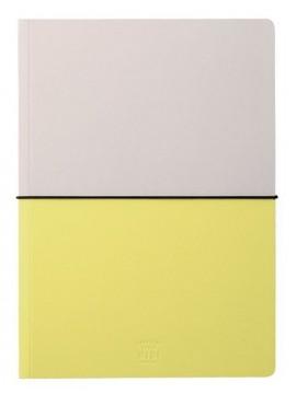 A5 Notebook, HIBI // Yellow