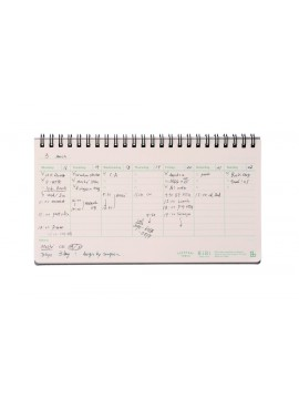 Weekly Notebook Green - HiBi