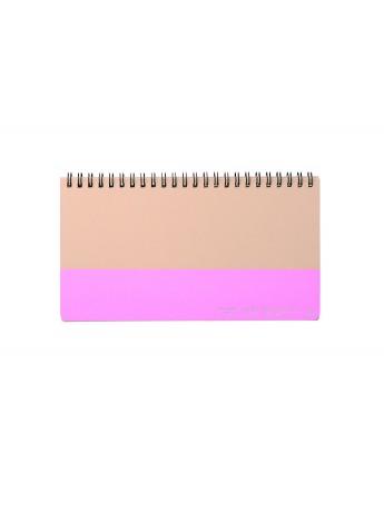 Weekly Notebook HIBI // Pink