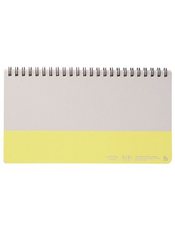 Weekly Notebook HIBI // Yellow