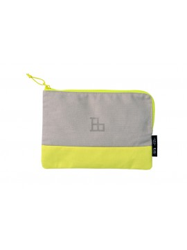 Multi size Pouch HIBI // Yellow