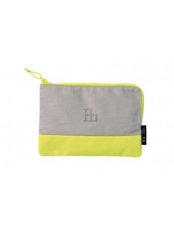 Multi size Pouch HIBI // Yellow