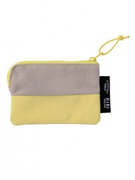 Card size Pouch HIBI // Yellow