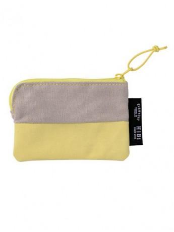 Card size Pouch HIBI // Yellow