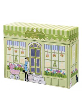 Letter set with box, LADUREE // Vitrine