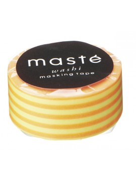 Neon Orange Stripes - masté® Basic - VISIBLE NEON