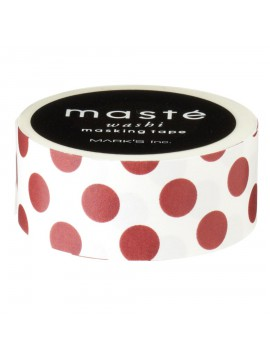 Bordeaux Dots - masté® Basic