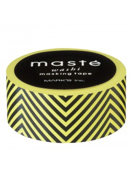 Yellow Chevrons - masté® Basic