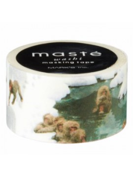 Monkey and hot spring - masté® Multi