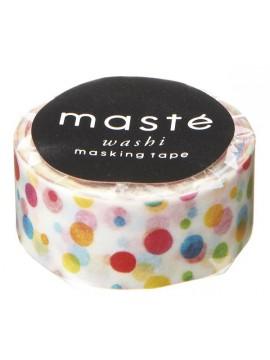 Colorful dots - masté® Multi