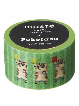 Green - Pokefasu - masté® Collab'