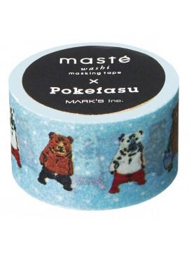 Light Blue - Pokefasu - masté® Collab'