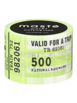 Travel ticket // City, MASTE 1P - 7m