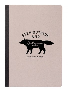 A5 Notebook Gray - WOLF