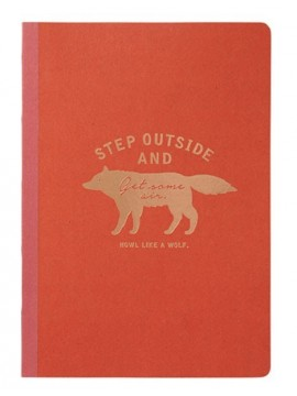 A5 notebook Red - WOLF