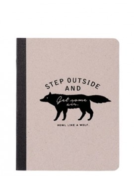 A6 notebook, WOLF // Gray