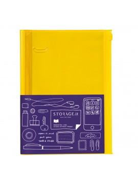 Notebook Solid Yellow L - STORAGE.IT