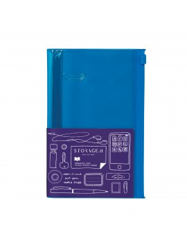 Carnet Solidcolor Blue S - STORAGE.it