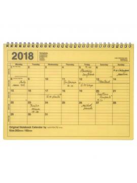 Calendrier 2018 M Jaune - Mark's