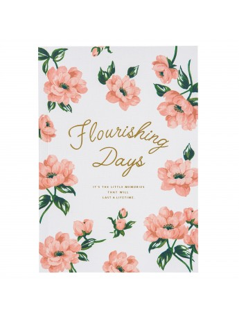 Notebook A5 Ivory - FLOWER
