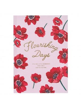 Notebook A5 Pink - FLOWER