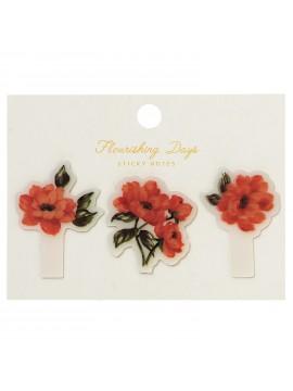 Stickers Pour Pense-Bêtes Flower Ivoire -  Zakka Collection