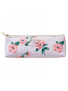 Pen Case Flower Ivory - Zakka Collection