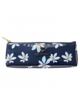Trousse Flower Bleu - Zakka Collection