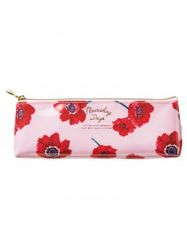 Pen Case Flower Pink - Zakka Collection