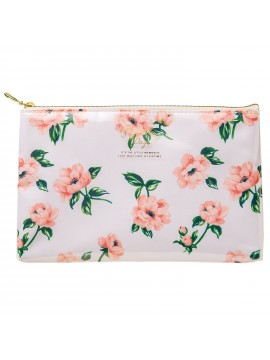 Pouch Flower Ivory - Zakka Collection