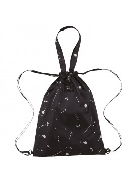 Tote Bag 2Way Rain Knapsack Splash Black - KIU
