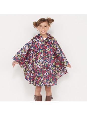 Poncho Enfant De Pluie Imperméable Unisexe Bohemian Flower - KIU