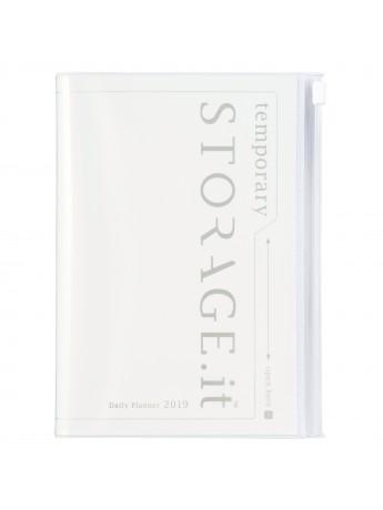 Notebook White A5 - STORAGE.IT