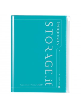 2019 Diary A5 vertical Turquoise - STORAGE.IT