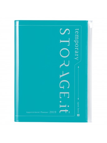 Agenda 2019 A5 Vertical Turquoise - STORAGE.IT